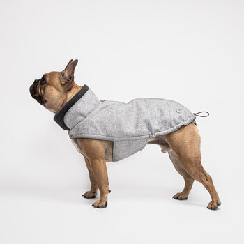 Brooklyn Bulldog Coat - Flannel Gray
