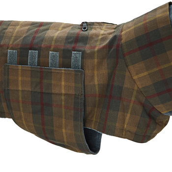 Brooklyn Waxed Dog Coat - Tartan