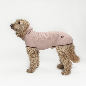 Dorset Dog Sweater - Rose