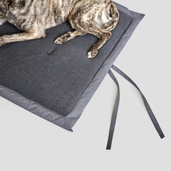 Water-Repellent Dog Mat - Mid Gray