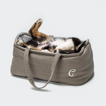 Welpenbett Pisa Travel Dog Bed - Clay - Small