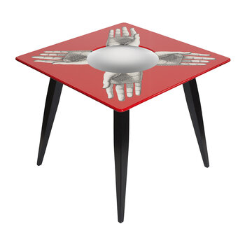 Magic Mani Table - Red