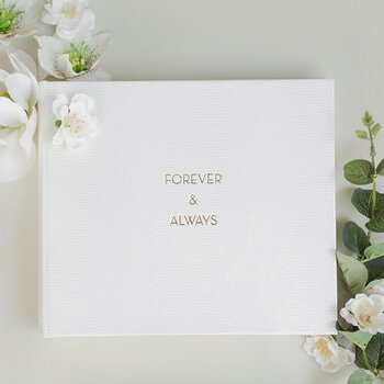 Wedding Album - 'Forever & Always'