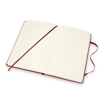 Classic Leather Notebook - Bordeaux Red