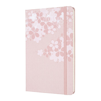 Limited Edition Sakura Ruled Notebook - Dark Pink