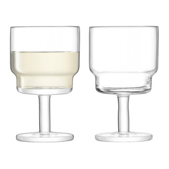 Utility Wine Glass - Set of 2 - Clear