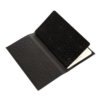 Heritage Collection Black Paseo Embossed Travel Journal