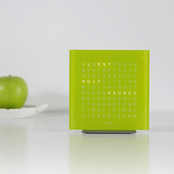 Touch Alarm Clock - Lime Juice