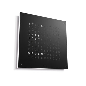 Classic Clock - 45x45cm - Black Pepper