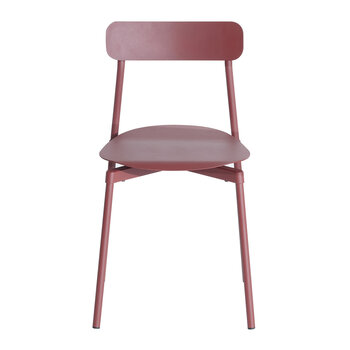 Fromme Dining Chair - Brown/Red