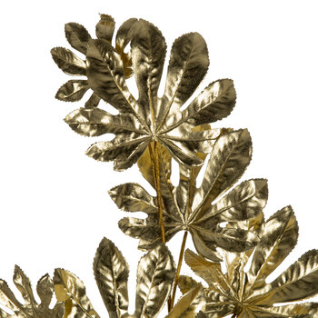 Aralia Leaf Pick - Pale Gold