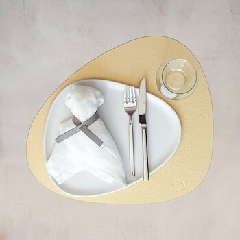 Hippo Curve Table Mat - Set of 4 - Gold