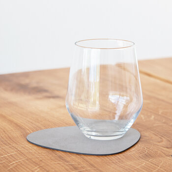 Nupo Curve Drinks Coaster - Set of 4 - Light Gray