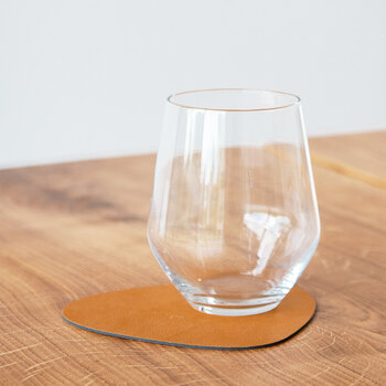 Nupo Curve Drinks Coaster - Set of 4 - Burned Curry