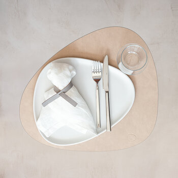 Nupo Curve Table Mat - Set of 4 - Sand