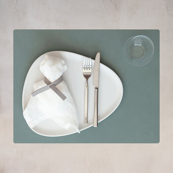 Nupo Square Table Mat - Set of 4 - Pastel Green