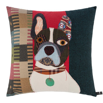 Pierre the French Bulldog Pillow - 50x50cm