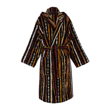 Kamum Hooded Bathrobe - Brown