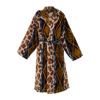Sahara Hooded Bathrobe - Brown