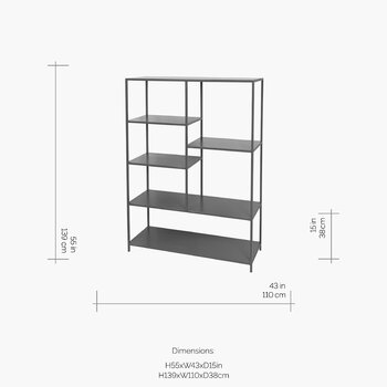 Ryle Bookcase - Large - Magnet