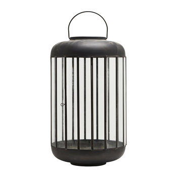 Pamal Lantern - Antique Brown