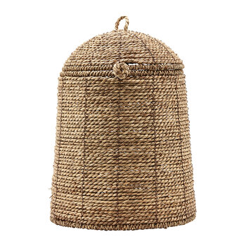 Rama Basket with Lid - Natural - Large