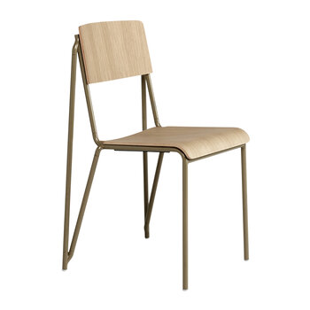 Petit Standard Chair - Clay/Oak