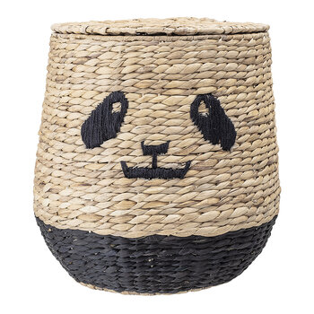 Panda Basket with Lid