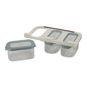 Cupboard Store Food Storage - Set of 3 - 900ml - Light Opal