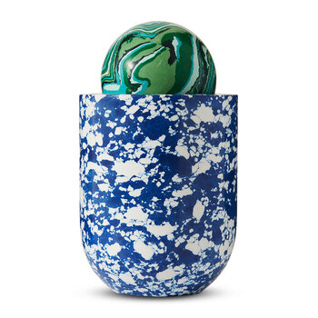Swirl Ball Candle