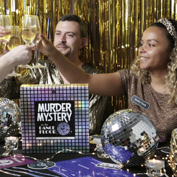 Spiel Host Your Own Murder Mystery on the Dance Floor