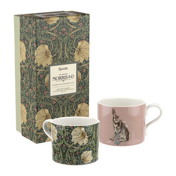 Pimpernel & Forest Hare Mugs - Set of 2