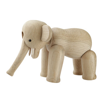 Elephant Wooden Figurine - Mini