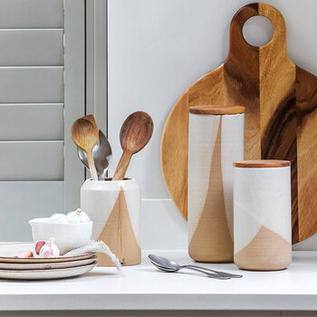 Sand Curve Utensil Pot