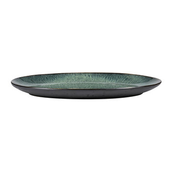 Oval Serving Dish - Green