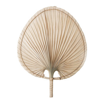 Palm Leaf Wall Decor - Natural - Natural