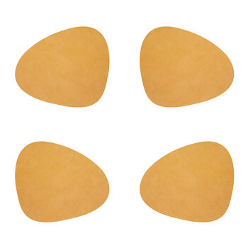 Nupo Curve Table Mat - Set of 4 - Burned Curry