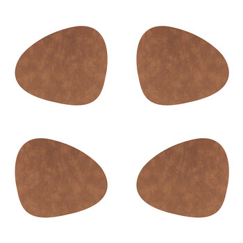 Nupo Curve Table Mat - Set of 4 - Nature