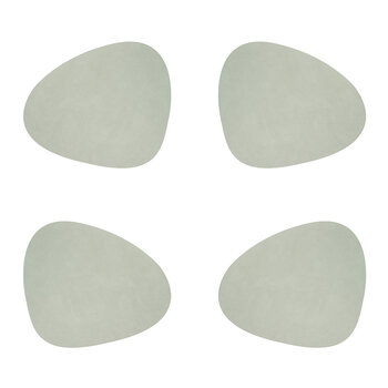 Nupo Curve Table Mat - Set of 4 - Olive Green
