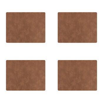 Nupo Square Table Mat - Set of 4 - Nature