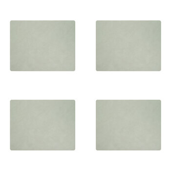 Nupo Square Table Mat - Set of 4 - Olive Green