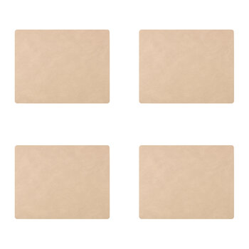 Nupo Square Table Mat - Set of 4 - Sand