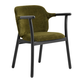 Ersum Chair - Black/Green