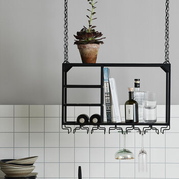 Loft Hanging Shelf - Black