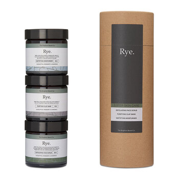 Rye 3 Step Skin Care Gift Set