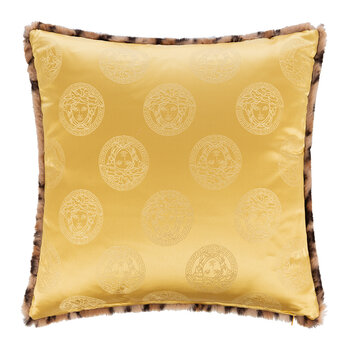 Medusa Royale Leopard Cushion