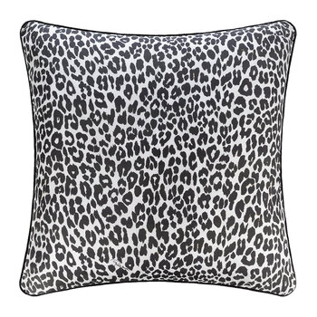 Bouquet Leopard Silk Pillow - 60x60cm - Gold