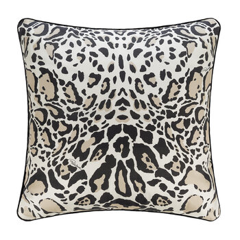 Linx Silk Cushion - 40x40cm - Ivory