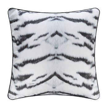 Tiger Frame Silk Pillow - 60x60cm