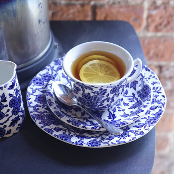 Arden Teetasse & Untertasse in Blau